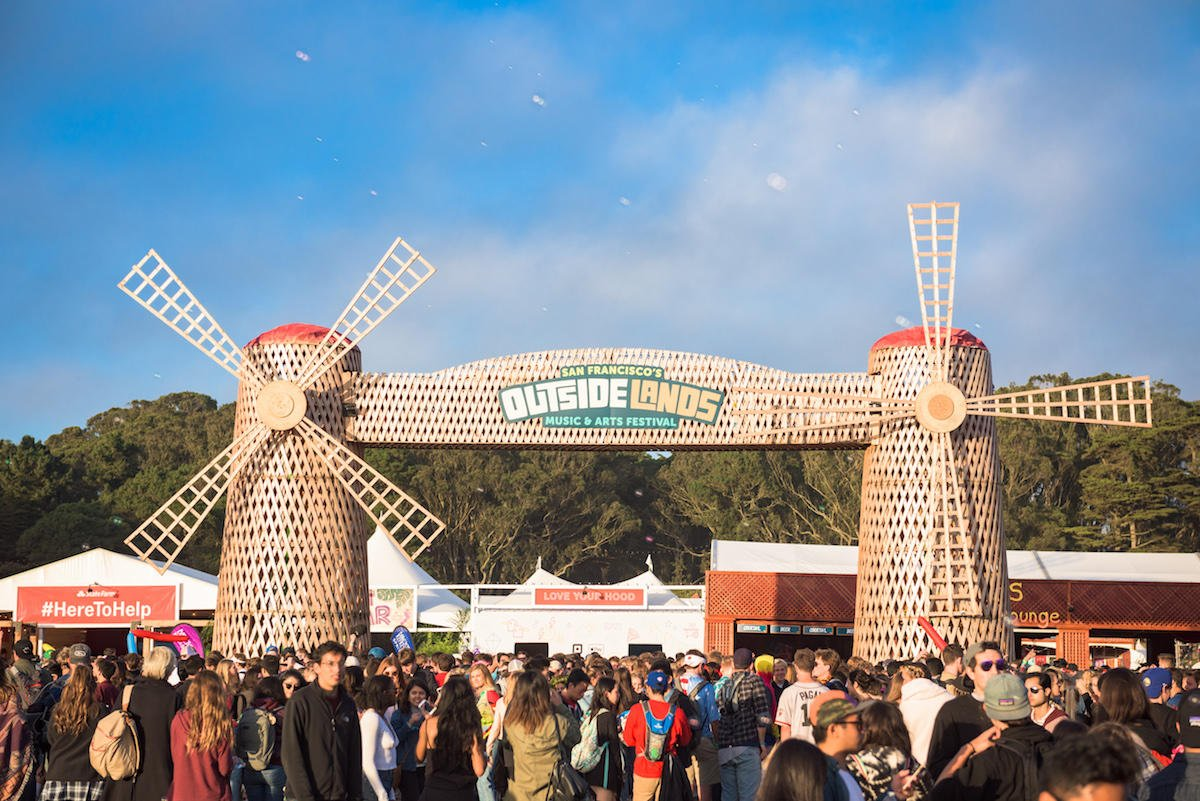 ranger dave can almost feel the summer breeze in his mustache. #outsidelands (📷: @jorgphoto)