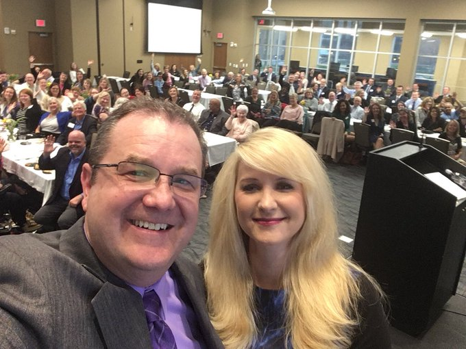 """RT @JoeCrain: It was a large crowd for the 10th annual @UISedu """"Gold As Gold"""" awards to recognize volunteerism achievements by UIS students…"""