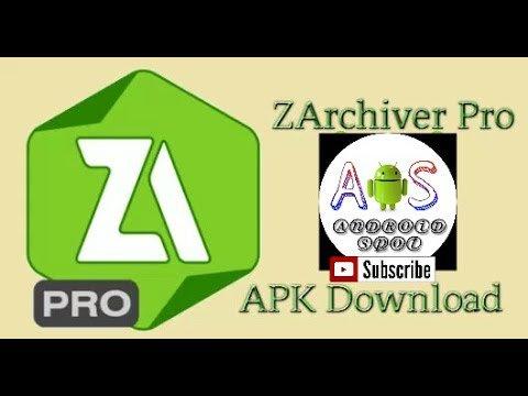 Zarchiver pro Apk download