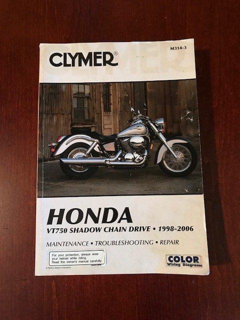 Honda vt750 shadow manual