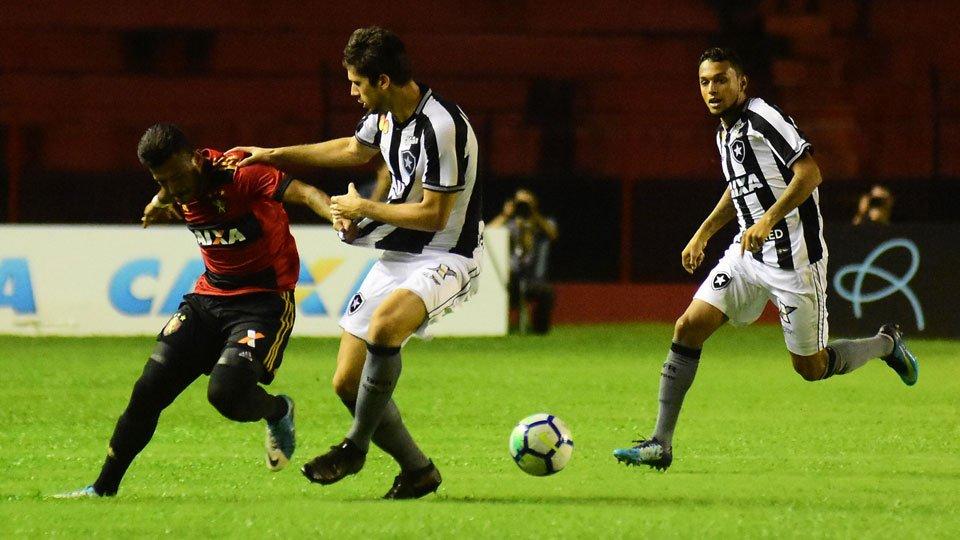 Sport leva empate do Botafogo nos acréscimos na Ilha do Retiro. Veja os gols: https://t.co/sipcDHJI2z