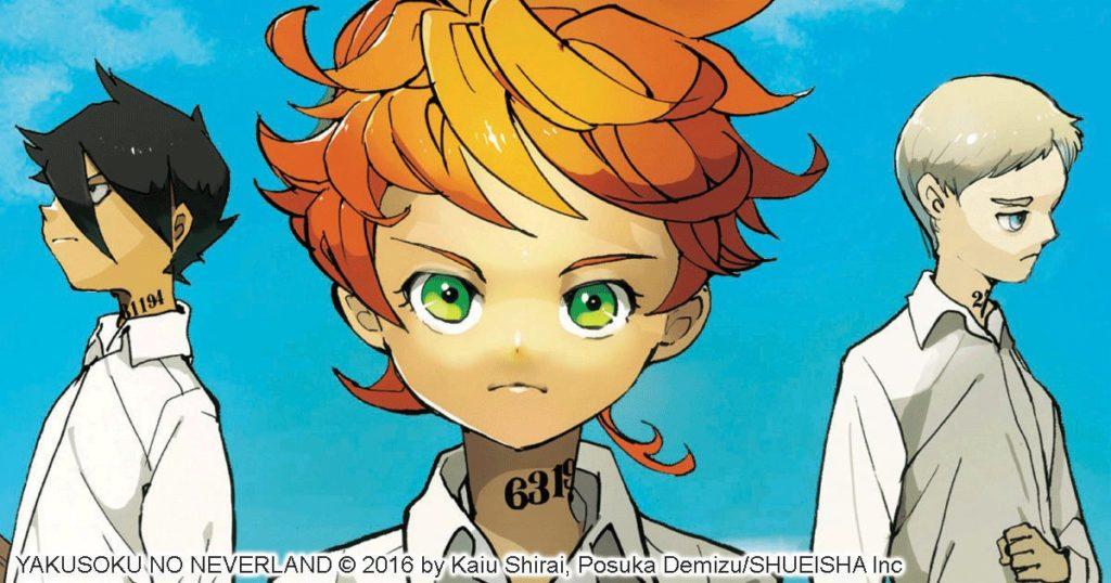 مانجا Yakusoku no Neverland تحصل على أنمي an-update.com/home/?p=25617 #meetotaku