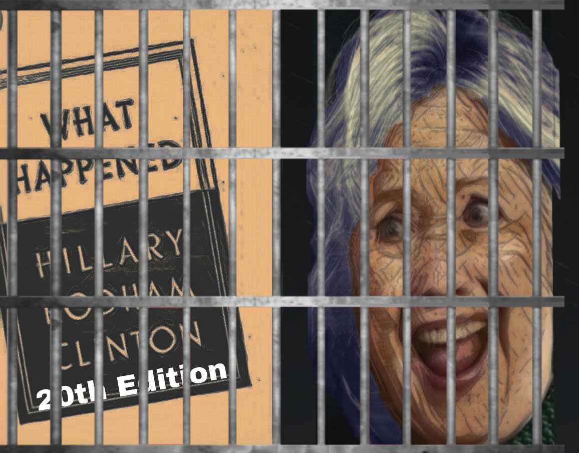 First #McCabe, now #Comey but best of all #HillaryClinton I hope you enjoy your new home where you can enjoy your writing career. #MAGA #qanon #TheRainMakers #GREATAWAKENING<br>http://pic.twitter.com/JkTiC8wBQr