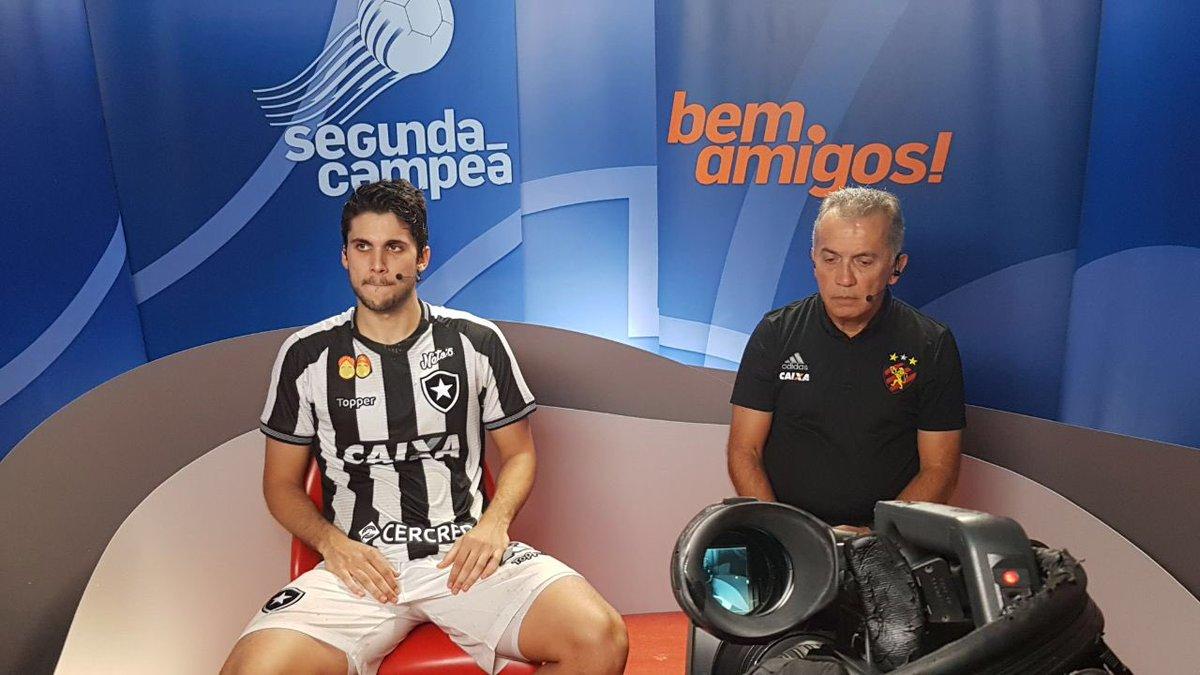 Rabello representou o Fogão no programa 'Bem, Amigos', do Sportv, e comentou empate alvinegro na segunda rodada do Brasileirão! #VamosFOGO ⭐️