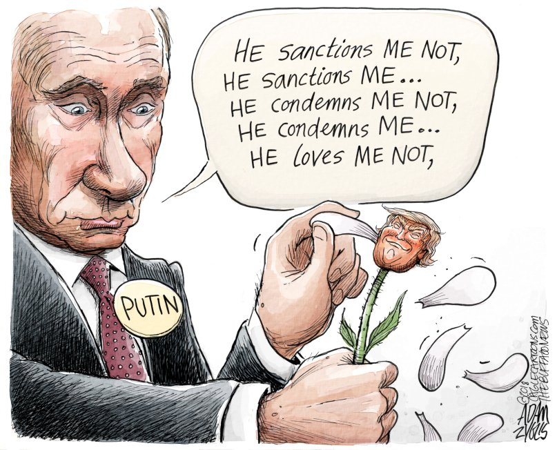 We all know the answer - @realDonaldTrump LOVES  #PUTIN <br>http://pic.twitter.com/QqrYPxBMg0