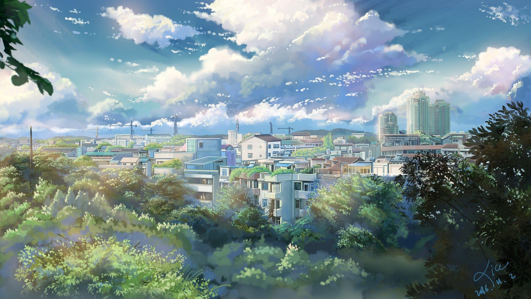 Солнечный город картинки на рабочий стол
