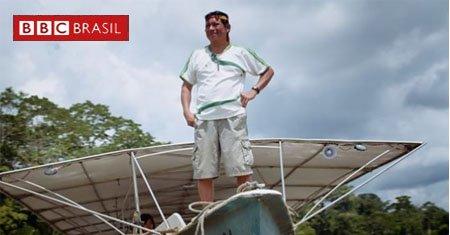 A canoa solar na Amazônia que ajuda comunidades a navegar sem gasolina pela selva https://t.co/L26GMwAOpA