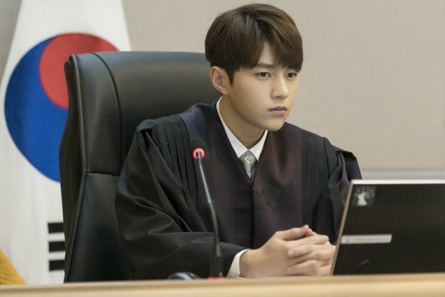 'Miss Hammurabi' releases character still cuts of INFINITE's L as an elite judge https://t.co/3UkGAlNH2N