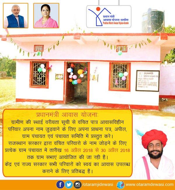 ग्राम पंचायत योजना राजस्थान