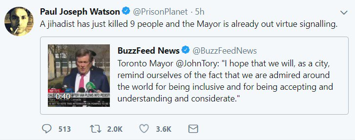 It's really bad watching the bigot propaganda machine spread lies and misinformation about something in your own city.