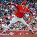 Image for the Tweet beginning: Tyler Skaggs pitches Angels past