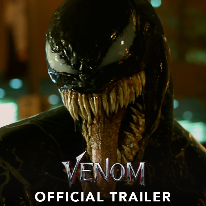 We Are #Venom. Watch the new trailer now...