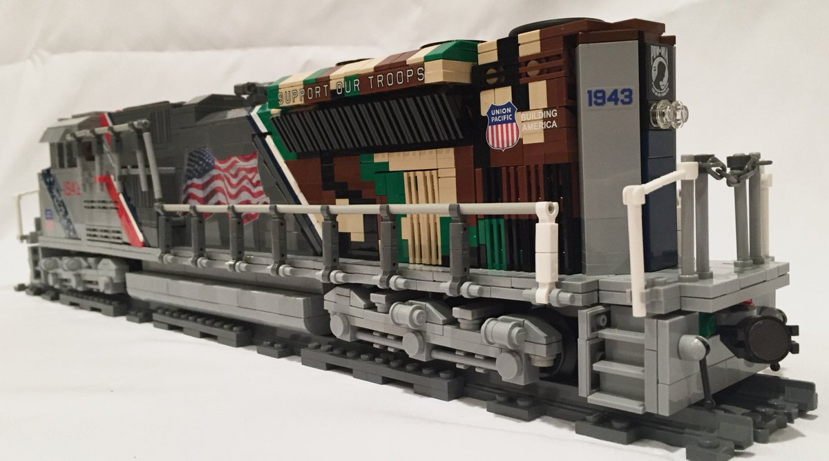 brickzfrom9to5 on twitter my new spirit of the union pacific lego