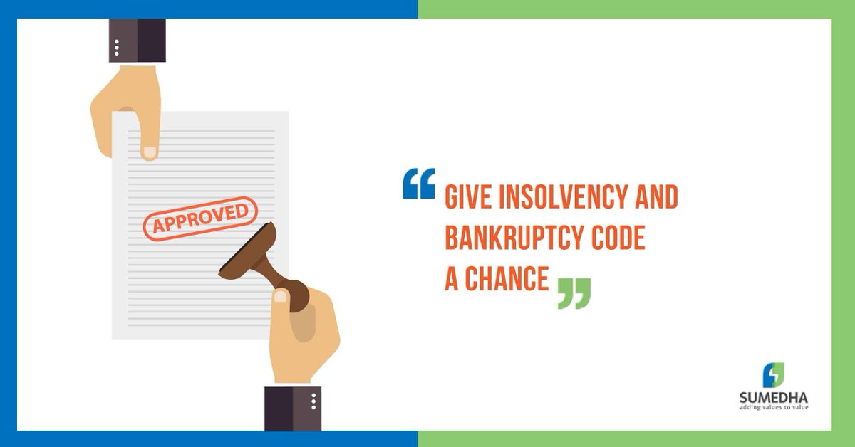 The Code is not a remedy for creditors to pursue their individual rights; it is a symbiotic mechanism for all stakeholders.  https:// buff.ly/2vi0I4K  &nbsp;   #Insolvency #Bankruptcy #IBC<br>http://pic.twitter.com/QH3hcr7vBl