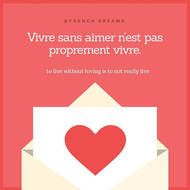 Vivre sans aimer n'est pas proprement vivre. . . . To live without loving is to not really live. #france #french #frenchiesofinstagram #paris #frenchquotes #france #francaise #madeinfrance #talkinfrench #dreams #quotes #amour #learningfrench #bilin…  https:// ift.tt/2vBgc3G  &nbsp;  <br>http://pic.twitter.com/BUZJpYfKv0