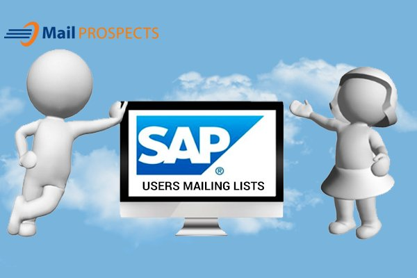 SAP Users Mailing List:   We aim to provide you a better response rate.  Get Free Sample Email List: Call us:1-888-420-0517 Email us: info@mail-prospects.com Website:  https:// mail-prospects.com/technology-use rs-mailing-list/sap-users-list/ &nbsp; …   #b2bemailmarketing #b2bdatabase #sap #technology #mailinglist #marketing #leads <br>http://pic.twitter.com/Uyxk7HpciU