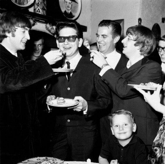 Roy Orbison happy birthday     Lefty Wilbury