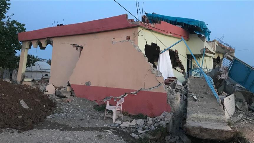 Число пострадавших при землетрясении на юго-востоке Турции возросло до 39