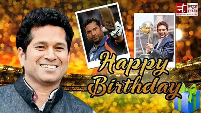 Happy birthday to you little Master Sachin Tendulkar .  God of cricket\s