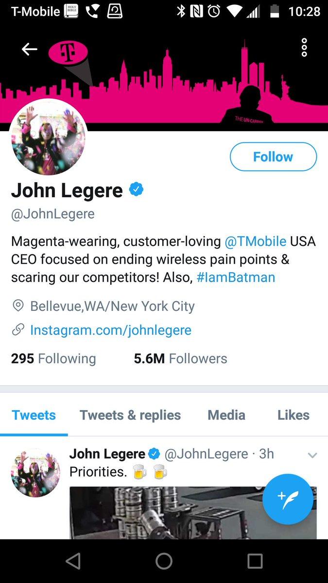 John Legere On Twitter Can You Email Me Pls John Legere T