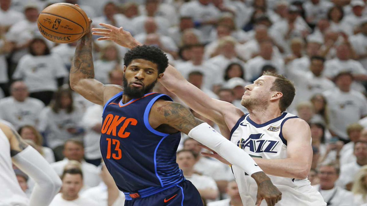 487239151e4 Oklahoma City lost its third straight in the series after shooting just 39  percent from the field. STORY  https   bit.ly 2Hq9PC2  pic.twitter.com 51viWbAJH6