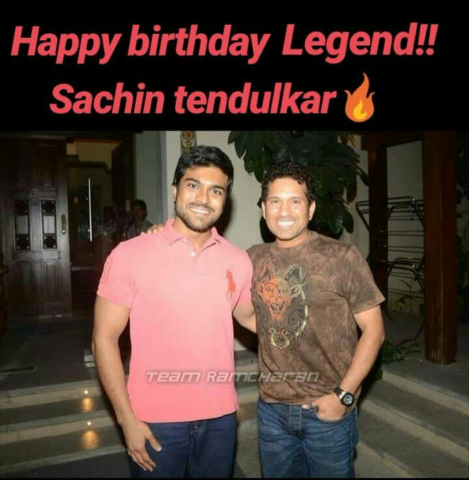Happy birthday to our master blaster    Sachin tendulkar