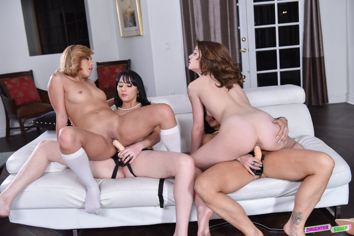 S And Sources Lesbians Foursome