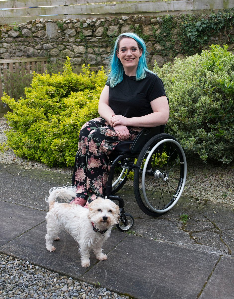 What a poser. And @luberachi is in the pic too.  'The day I started using a wheelchair, a lifetime of self-inflicted pressure lifted'  https://t.co/OAP5niOP5h