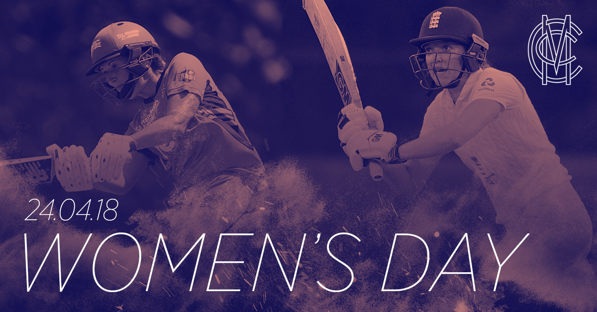 MCC #WomensDay   Lord's Ladies v. Marylebone Maidens  (10am)  MCC vs @MiddxCCCWomen (1:30pm)  Lord&#39;s Cricket Ground  24th April, 2018  £5 adults, free for children   http:// lords.org/womensday  &nbsp;  <br>http://pic.twitter.com/OhVPCBoagW