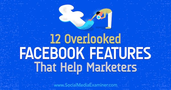 http://www. linkedin.com/in/jachaudhry/  &nbsp;    12 Overlooked #Facebook Features That Help Marketers Have you explored all of the functions Facebook has for marketers? Features that help you better manage your content and communities.  #digitalmarkiting  #socialmarketing    https://www. socialmediaexaminer.com/12-overlooked- facebook-features-that-help-marketers/?utm_source=Newsletter&amp;utm_medium=NewsletterIssue&amp;utm_campaign=New &nbsp; … <br>http://pic.twitter.com/7WuH4Trewh