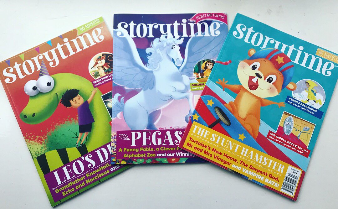 Today we look at the brilliant @StorytimeMag Beautifully put together highly illustrated collection of stories &amp; poems to share! Exceptionally good #magazine for growing a love of reading &amp; perfect for sharing!  Read all about it on #BookMonsters -  http:// bit.ly/2qPQV17  &nbsp;  <br>http://pic.twitter.com/FdV0WGEjvr