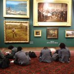 Image for the Tweet beginning: Yr10 visited the Guidhall Art