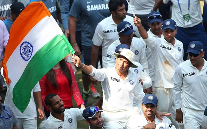 Happy Birthday, Master. You are an inspiration to all of us Sachin Tendulkar