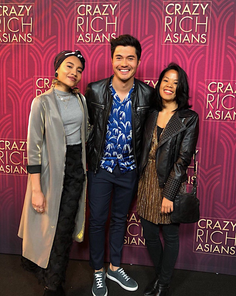 🙌🏽🙌🏽🙌🏽@CrazyRichMovie was so good! I laughed I cried and it was so much fun & WTH Henry you're a freakin star! uhh watch out hollywood💁🏻‍♀️