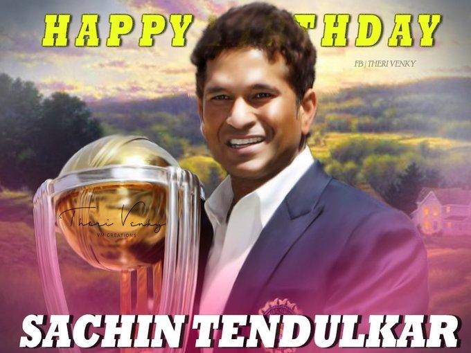Happy bday sachin tendulkar