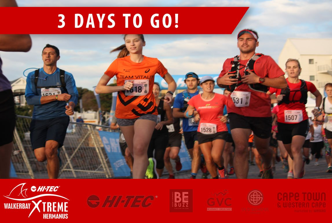 3 DAYS TO GO: Can you feel the excitement? The @HiTec_SA Walkerbay Xtreme is almost here! <br>http://pic.twitter.com/30jKeMeuqe