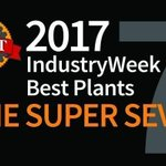 2017 @IndustryWeek Best Plants Awards: The Super Seven https://t.co/hI3jbbvIhw #IWBestPlants  #mfg