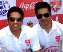 Happy birthday to the living legend Sachin Tendulkar and bollywood lejhand Varun Dhawan