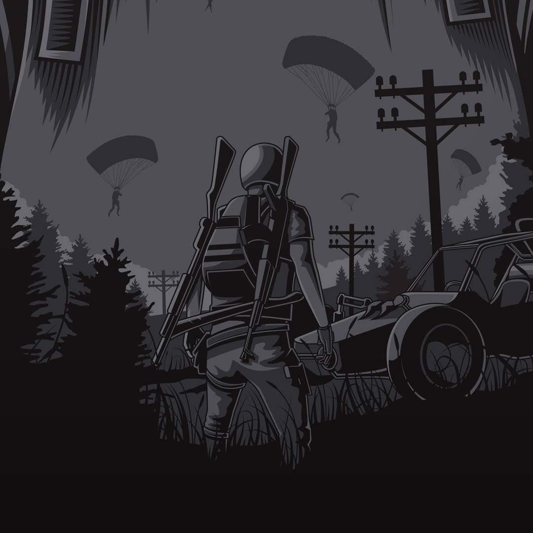 Mattias Johansson On Twitter Details Pubg Vector Illustrator