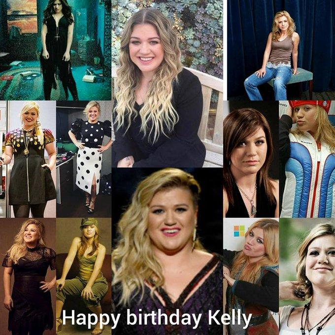 Happy 36th birthday Kelly Clarkson!