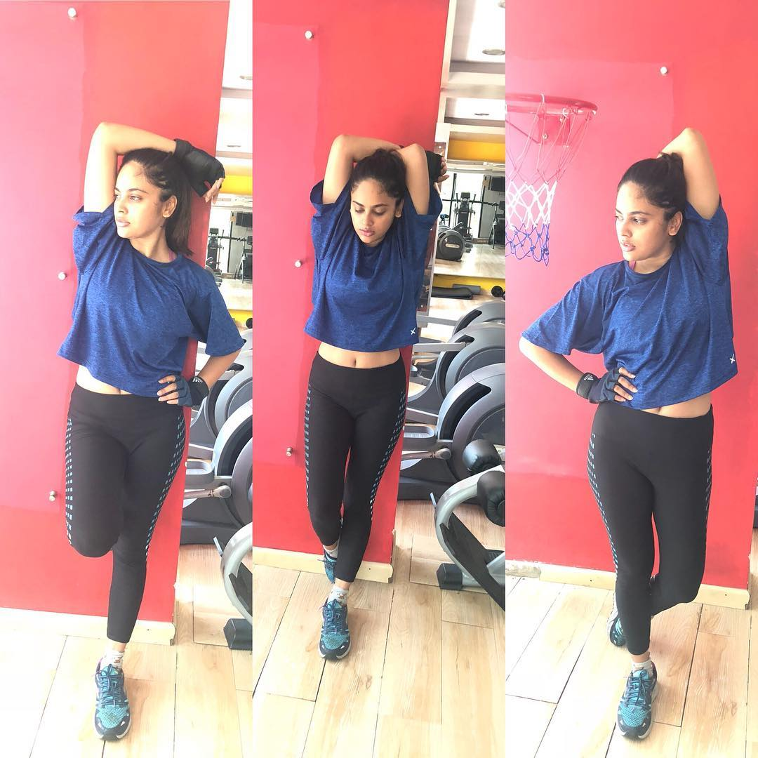 Image result for nandita swetha latest gym