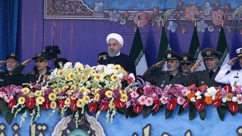Iranian President Rouhani calls on US President Trump to uphold the 2015 nuclear deal or 'face severe consequences' https://t.co/1cixXKLlWD