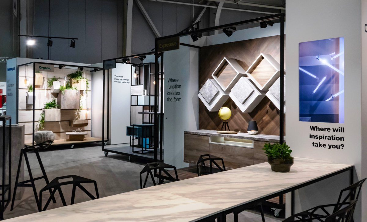 ... Hall 2 And Speak To Our Experts About The Newest Trends In #design,  Surface Materials And Decors For The #furniture And #InteriorDesign  Industries.