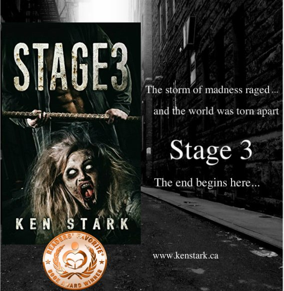 The thing came tearing up the stairs, snapping its jaws and snarling like a feral dog...   https://www. amazon.com/dp/B01CYITYOS  &nbsp;   #horror #zombie #apocalypse #survival #thriller #series  #ReadersFavorite  Read #Stage3 for #FREE on #KindleUnlimited<br>http://pic.twitter.com/J7tt1mcT4E