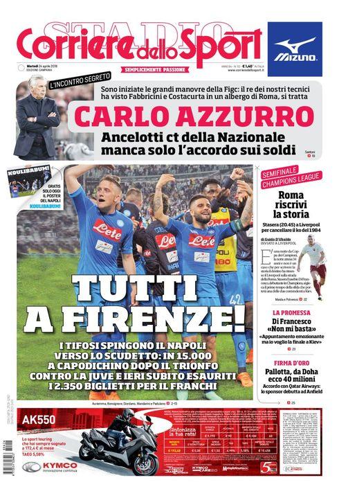 PrimaPagina @CorSport Edizione Campania...
