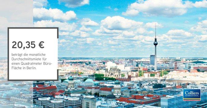 Riesige Nachfrage, sinkender Leerstand und Mietpreisexplosion: der Berliner Büromarkt boomt auch im ersten Quartal 2018. Alle Informationen auf einen Blick gibt's in der Infografik:  #Berlin t.co/Ebh2Jfr0av