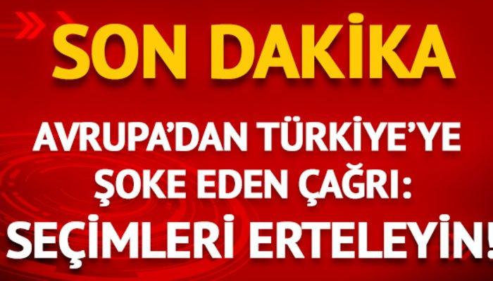 #SONDAKİKA   Avrupa'dan Türkiye'ye 'seçi...