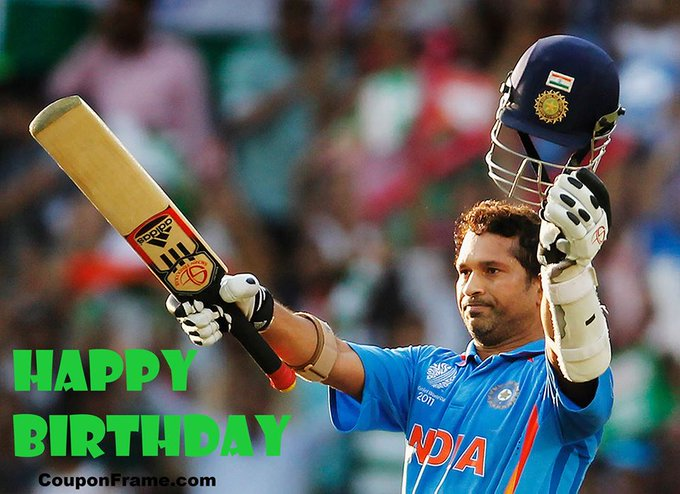 Wishing Happy Birthday Sachin Tendulkar