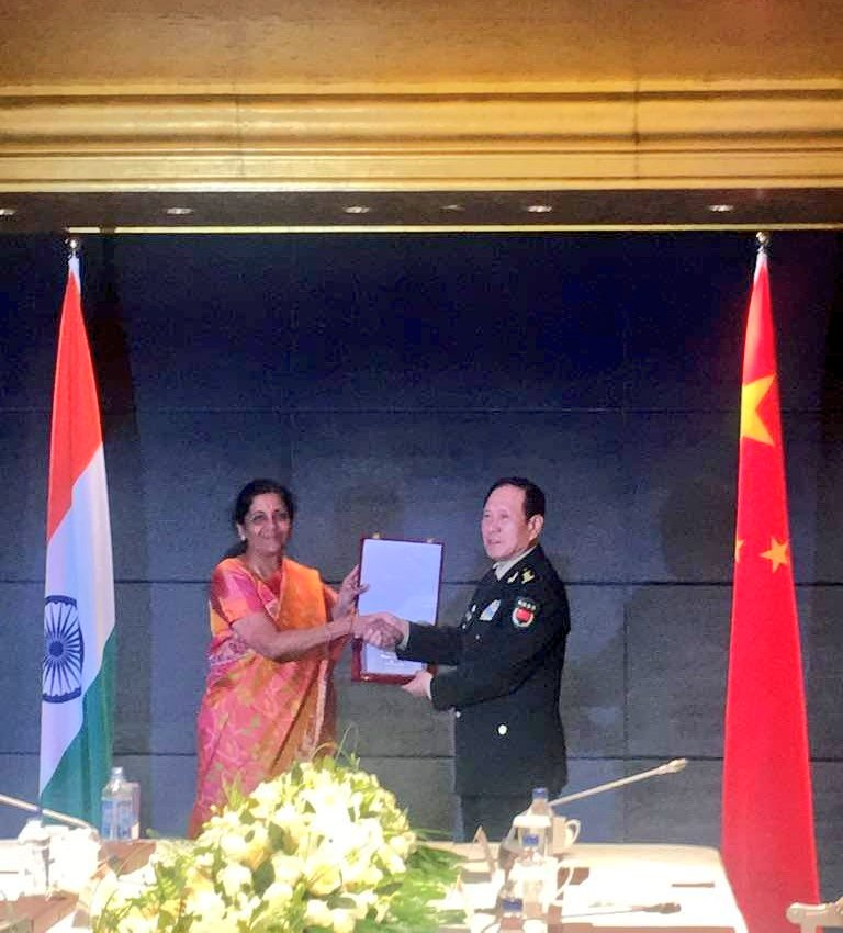 Sitharaman attends SCO Defence Ministers' meeting