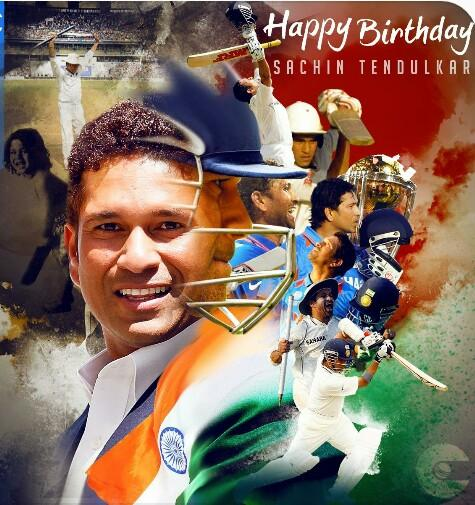 Happy Birthday God of Cricket  Sachin Tendulkar Sir...